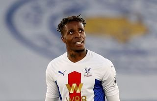 Wilfried Zaha featured in Crystal Palace's last outing against Leicester City
