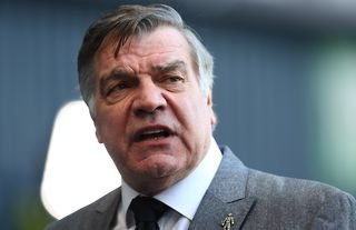 West Bromwich Albion manager Sam Allardyce talks to the press before playing Newcastle