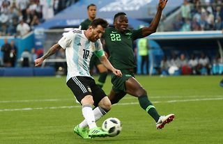 Lionel Messi's goal vs Nigeria was absolutely incredible