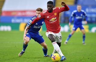 Axel Tuanzebe in action for Man United