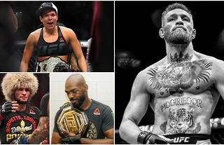 UFC fan has listed the '5 greatest fighters of all time' and it's caused a serious stir