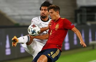 Manchester United target Pau Torres goes up against Emre Can