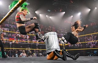 The Tag Team Championships were on the line in WWE NXT