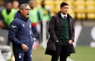 Nathan Tyson makes admission about Chris Hughton's Nottingham Forest future