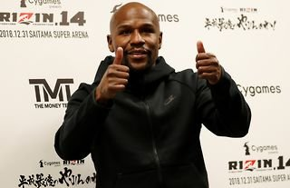 Floyd Mayweather clashed with the Paul's
