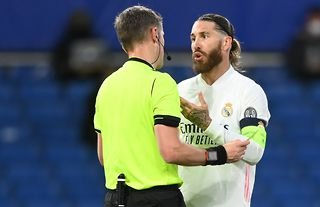 Sergio Ramos wasn't his usual self against Chelsea