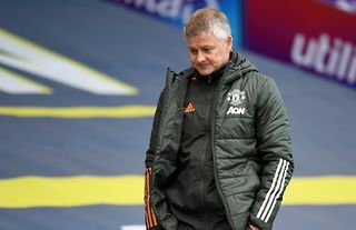 Ole Gunnar Solskjaer on the touchline for Manchester United who have spent big since his arrival
