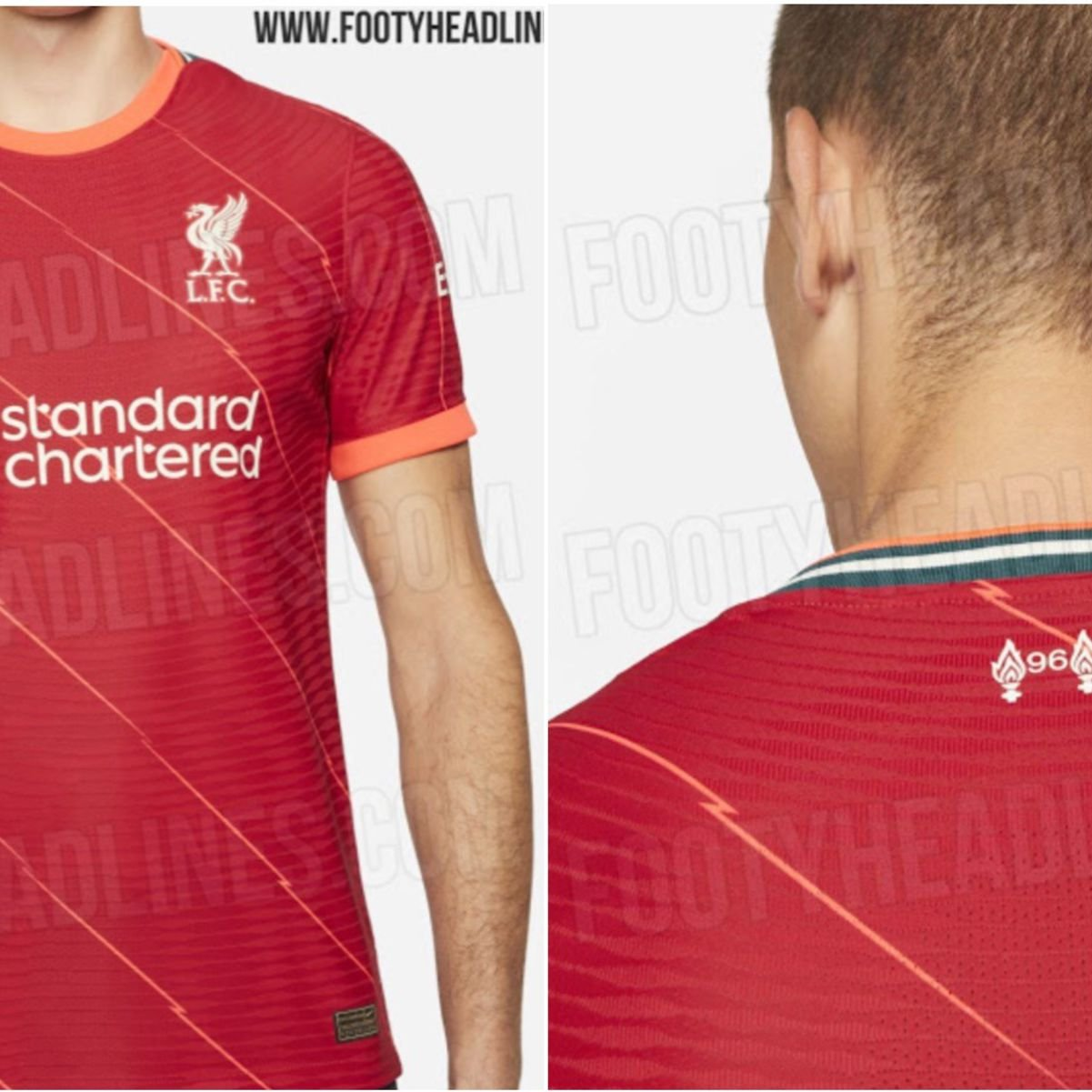 Liverpool new kit: Leaked images show full view of striking new strip |  GiveMeSport