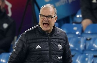 Leeds manager Marcelo Bielsa could have a decision to make on Noa Lang soon