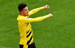 What a performance from Jadon Sancho!