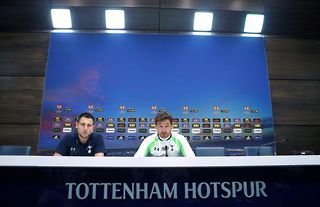 Former Tottenham Hotspur manager Andre Villas-Boas in a press conference in 2013