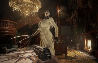 Lady Dimitrescu is one of the main antagonists in Resident Evil Village