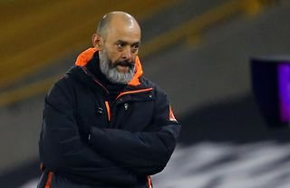 Nuno Espirito Santo watching on from the sidelines for Wolves who have spent big since his appointment