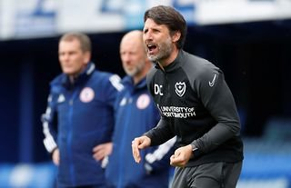Danny Cowley makes honest admission about his Portsmouth future after Accrington setback