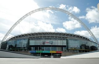 The Champions League final is set to be played at Wembley