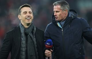 Neville and Carragher are Man Utd and Liverpool legends.