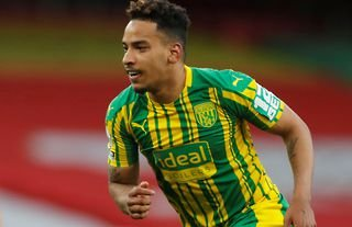 Matheus Pereira in action for West Brom