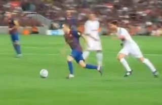 Stopping Andres Iniesta was near enough impossible...