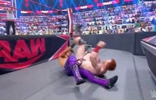 WWE RAW star took a nasty-looking bump this week