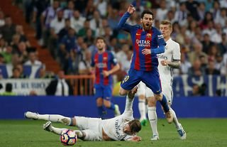 Sergio Ramos' tackle on Lionel Messi in 2018 as pretty brutal...