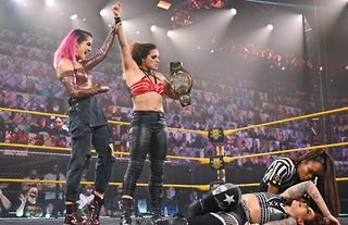 Full WWE NXT results as two championships are defended on busy night