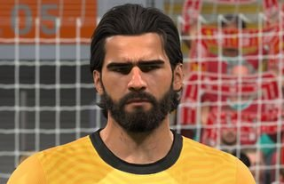 Liverpool goalkeeper Alisson Becker is one of 22 players to feature in FIFA 21 TOTW 33