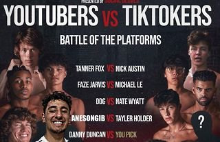 Several YouTube and TikTok stars will come together this June for a thrilling boxing event