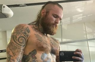 WWE star Black has shared his impressive seven-month body transformation