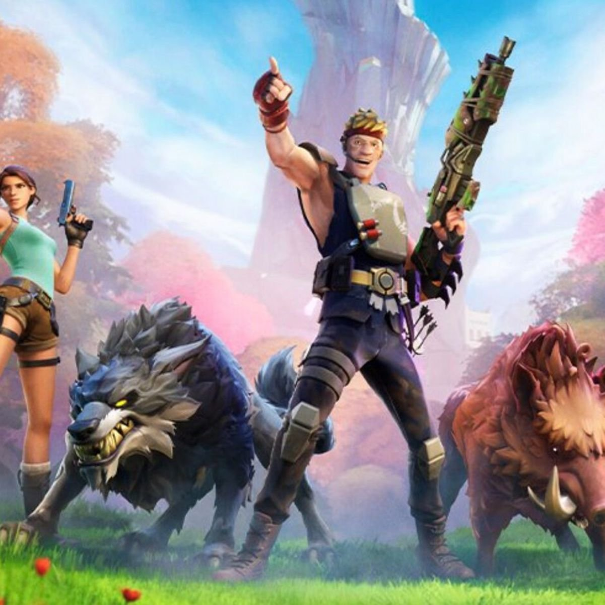 Numbet Of Fortnite Active Players How Many People Play Fortnite Givemesport