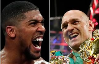 Anthony Joshua to fight Tyson Fury in June this year