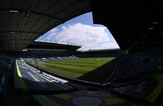 General view of Elland Road before Leeds United play Sheffield United in the Premier League