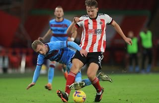 Sander Berge in action for Sheffield United amid reported interest from Arsenal