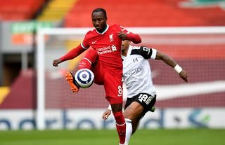 Liverpool's Naby Keita in action amid speculation over his future