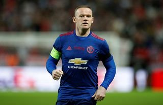 Wayne Rooney in action for Manchester United