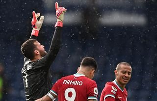 Alisson was Liverpool's hero against West Brom