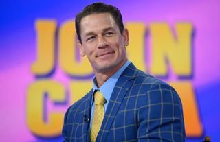 Cena had a brilliant response to suggestions he carried WWE