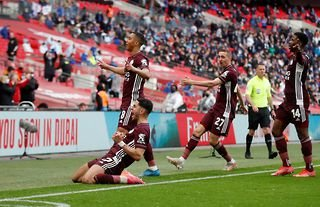 Youri Tielemans scored a stunning winner in the FA Cup final