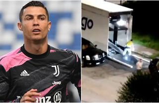 Cristiano Ronaldo future: Video emerges of Juventus star's cars leaving  Turin | GiveMeSport