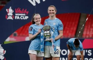 Rose Lavelle and Sam Mewis