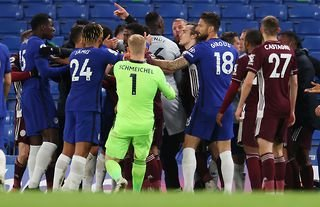 Chelsea vs Leicester ended in a Premier League brawl.