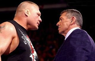 McMahon's reaction to first meeting Lesnar backstage in WWE has been revealed