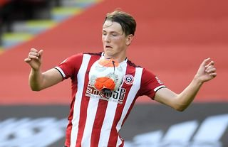 Sander Berge in action for Sheffield United amid links to Arsenal