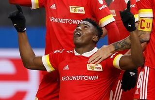 Taiwo Awoniyi in action for Union Berlin