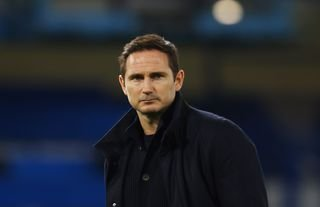 Crystal Palace target Frank Lampard staring into the distance