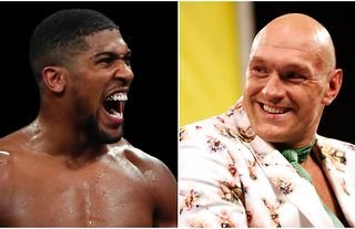 It is kicking off on Twitter between AJ and Fury!