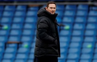 Frank Lampard during his time as Chelsea manager