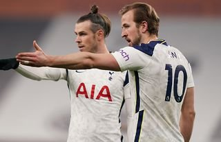 Gareth Bale and Harry Kane in action for Spurs