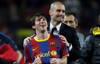 Pep Guardiola and Lionel Messi really was a match made in heaven