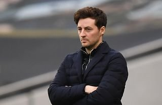 Next Spurs manager: Ryan Mason watches on