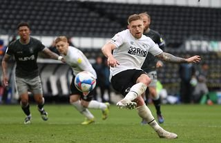 Derby County forward Martyn Waghorn linked with summer exit as Cardiff City eye swoop